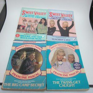 Sweet Valley Twins book lot